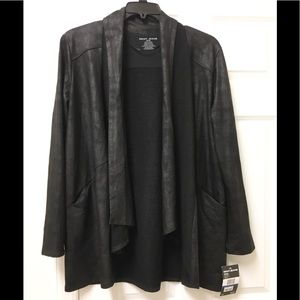 Awesome NWT 😎 DKNY open front jacket! 🖤